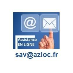 Assistance en ligne pour utilisateur AZLoc Premium - 12 mois